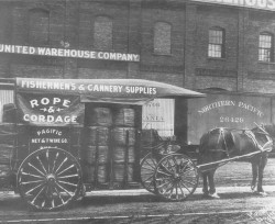 Fishermen's & Canney Supplies carriage
